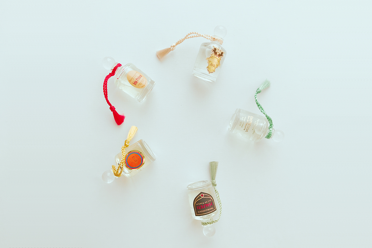 カタール航空-機内販売で見つけた『ペンハリガン』の香水ミニボトル