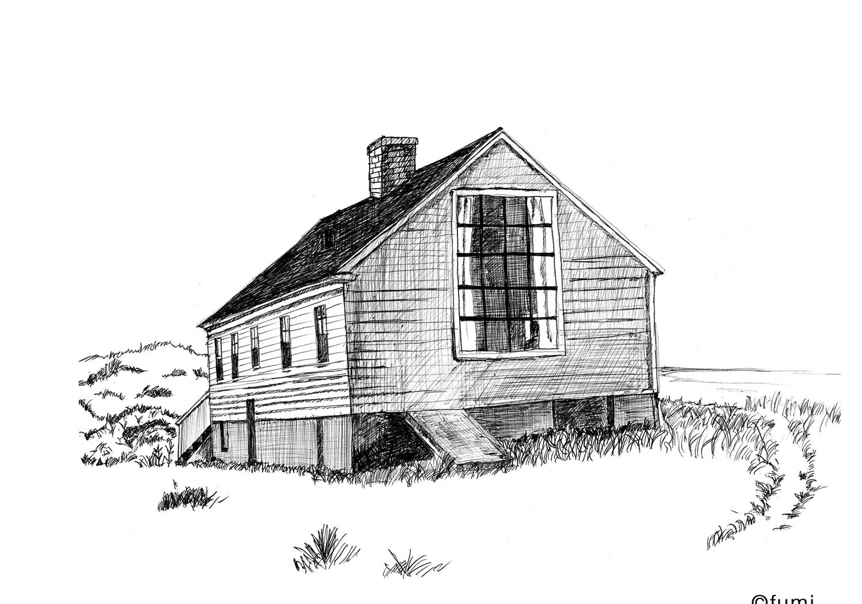 エドワード・ホッパーの愛した景色 『ケープコッド』