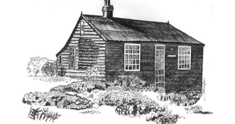 デレク・ジャーマンが晩年まで過ごした、イギリス南東部の街『Dungeness(ダンジネス)』