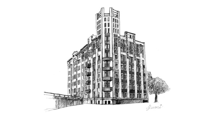 ロトチェンコが撮影した、モスクワで現存するロシアアヴァンギャルド建築