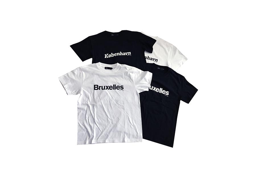 2020SS「anywhere.blue」のコラボTシャツが発売