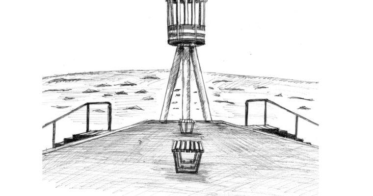 ヤコブセンがデザインしたリゾートプロジェクト、「コペンハーゲン 」近郊「ベルビュー・ビーチ(Bellevue beach)」